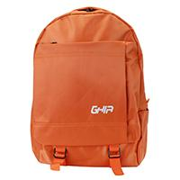 MOCHILA BACKPACK GHIA 15.6 COLOR NARANJA 3 COMPARTIMIENTOS